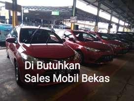 Dibutuhkan Sales Mobil Bekas