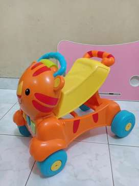 Walker and rider fisher price Tiger