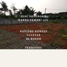 Disc! Tanah Cluster Murah 950Rb/M, Pot 25% Akhir Tahun!