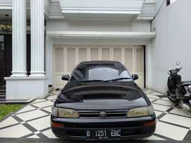 Toyota Corolla Great 1.6 MT 1992 TV CD DVD USB Velg R16 jual cepat