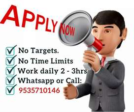 Earn monthly 30,000. Data entry job. Only 10 vacancies left