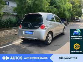 [OLX Autos] Honda Brio 2015 1.2 E Bensin M/T Silver #Arjuna Motor