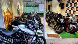 Pre-owner superbikes showroom BRANDS Ducati Triumph Harley Davidson