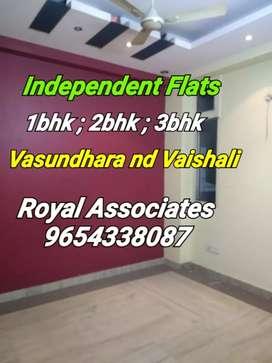 Vasundhara: Independent 1bhk,2bhk nd 3bhk flat for rent in Vasundhara