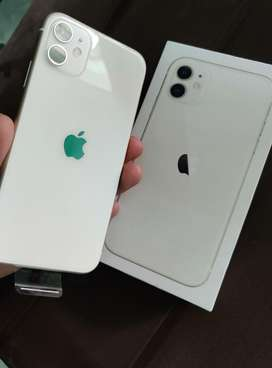 Iphone 11 white 128 gb 5 months old