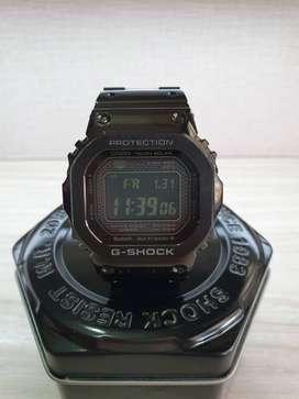 Casio G-Shock GMW-B5000GD-1DR Full Black Steel