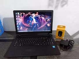 Dijual Laptop Lenovo ideapad 100 -15IBy intel celeron N2840 siap pakai