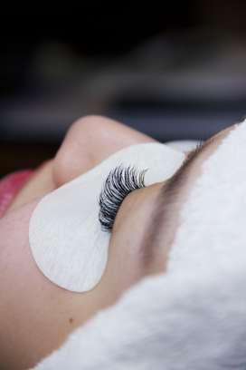 Therapist Eyelash Extensions, Nails, Waxing, Facial