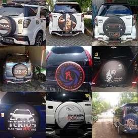 Cover/Sarung Ban Jeep/Rush/Terios/Touring/Ecosport PakaiDesainMu Burua
