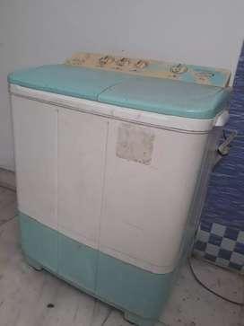 Running n good conditions washing machine