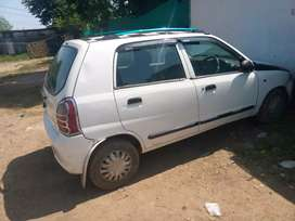 My brand new condition alto car for sell