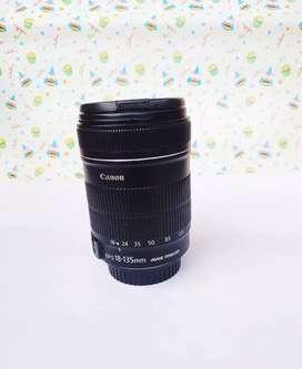 Lensa 18-135mm is,,Like New,,istimewa ex Data Script,,No minus