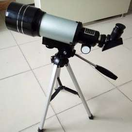 70 mm telescope and 300 mm focal length excellent