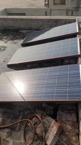 Best condition  solar panels and filter plant