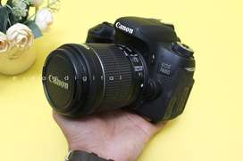 Canon 760D + 18-55mm STM WIFI LIKE NEW