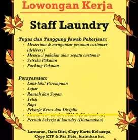 Loker staff laundry