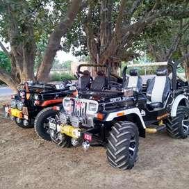 Modified open Jeep thar gypsy