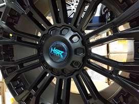 Velg mobil racing murah baut 6x139,7 ring 20 HSR wheel myth02 Hitam