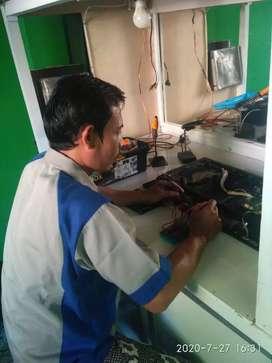 Jasa service tv dan monitor panggilan area bekasi murah bergaransi