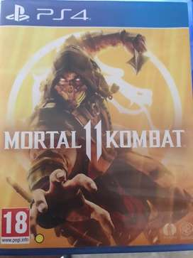 Brand new cds for ps4 mortal 11 combat