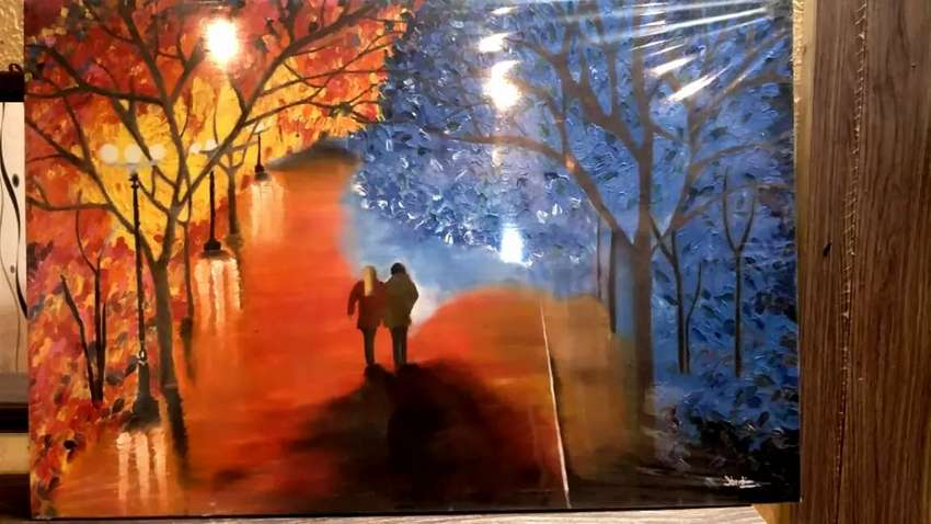 Hand made oil painting 0