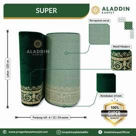 Tersedia Karpet Masjid Roll Import Berkualitas Baik