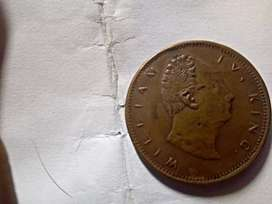 A One  Rupee Coin since 1816