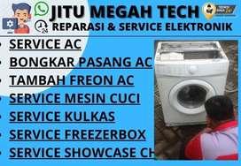 Service AC Tidak dingin Servis Mesin Cuci Kulkas Sedati Sidoarjo