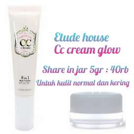 Etude house cc cream glow share in jar 5gr