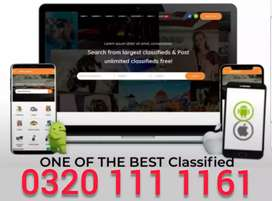 classified website matrimony website with android application Rs 15000