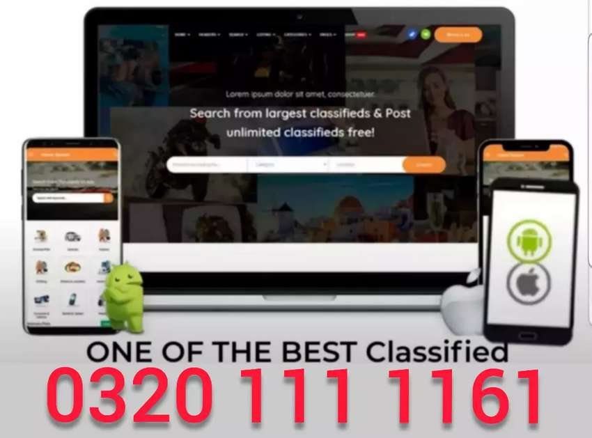 classified website matrimony website with android application Rs 12000 0