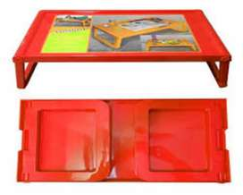 Folding bed table and eating table and  laptop colour available hai