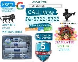 JKASFRWE WATER purifier UF UV ultra filtration led.  FREE 5 SERVICES.