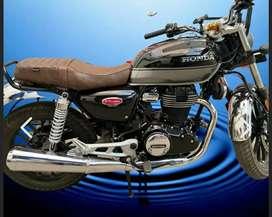 Bike sahara seat cover honda highness cb 350
