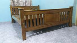 New Teak Queen (6.5x5)Teak cot. Home delivery 8O784(call)565O4
