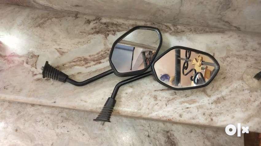 Dio bike mirror 0