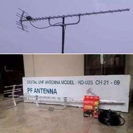 Gudang antena dan parabola pasang baru antena tv mini booster