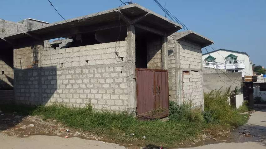 6 marla commercial Structure for sale Urgent need cash 0
