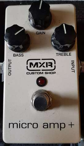 Mxr micro amp plus ,, bukan efek zoom boss joyo