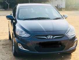 Hyundai Verna 2011-2014 1.6 SX CRDI (O) AT, 2013, Diesel