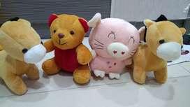 Paket boneka murah ada 4 boneka