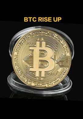 Koin Bitcoin souvenir