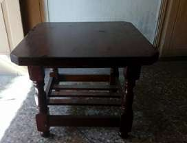 Unused + Newly Polished Wooden Table Set, Urgent Sale
