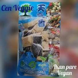 Ikan pare vegan