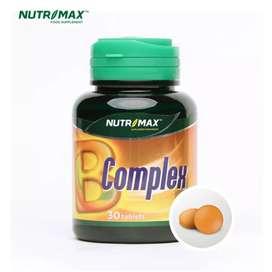 Nutrimax B Complex 30 Tablet Vitamin B lkp Nutrisi Otak Sistem saraf