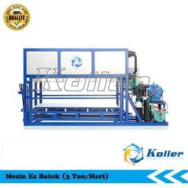 Mesin Es Balok-Mesin Es Blok 3 Ton Per Hari