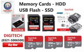 World's fastest Memory Cards - USB Flash - Hard Drives