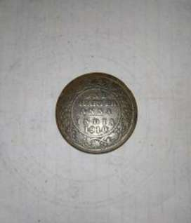 Old coin sale ONE ANNA INDIA 1910