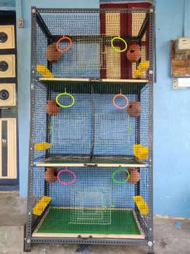 New Birds cage for sale with complete setup