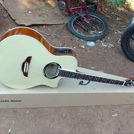 Gitar akustik elektrik gitar apx new string d